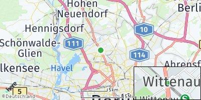Google Map of Wittenau