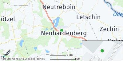 Google Map of Neuhardenberg