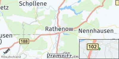 Google Map of Rathenow