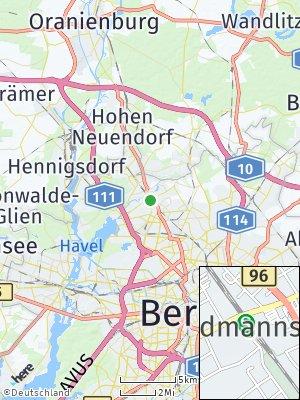 Here Map of Waidmannslust