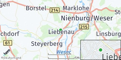 Google Map of Liebenau