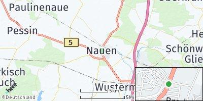 Google Map of Nauen