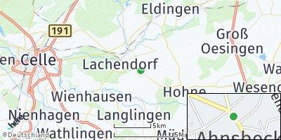 Google Map of Ahnsbeck