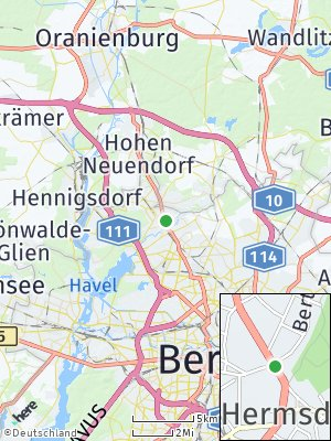 Here Map of Hermsdorf
