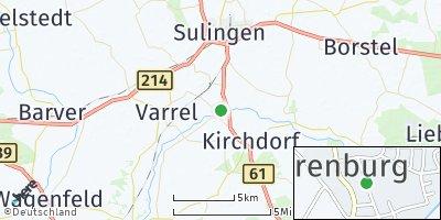 Google Map of Barenburg bei Sulingen