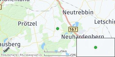 Google Map of Märkische Höhe
