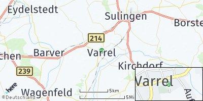 Google Map of Varrel bei Sulingen