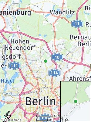 Here Map of Blankenfelde