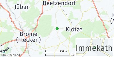 Google Map of Immekath