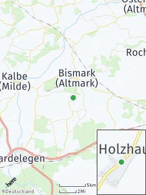 Here Map of Holzhausen bei Kalbe