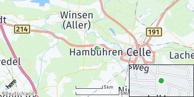 Google Map of Hambühren