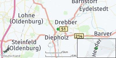 Google Map of Heede