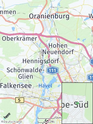 Here Map of Stolpe-Süd