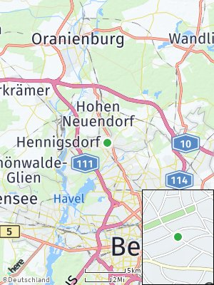 Here Map of Frohnau