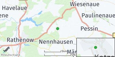 Google Map of Kotzen
