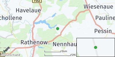 Google Map of Stechow-Ferchesar