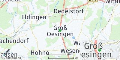 Google Map of Groß Oesingen