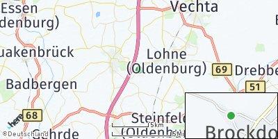 Google Map of Brockdorf