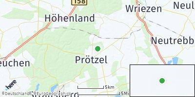 Google Map of Prötzel