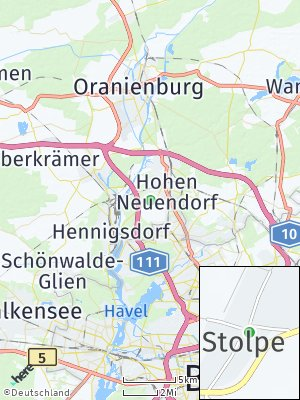 Here Map of Stolpe Dorf