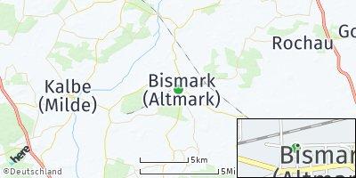 Google Map of Bismark