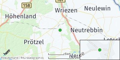 Google Map of Reichenow-Möglin
