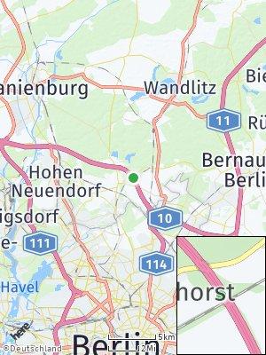 Here Map of Mühlenbecker Land