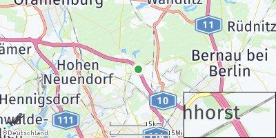 Google Map of Mühlenbecker Land