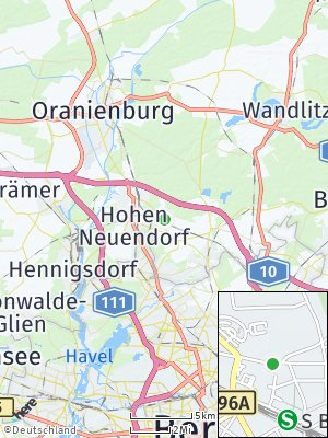 Here Map of Bergfelde