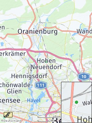 Here Map of Hohen Neuendorf