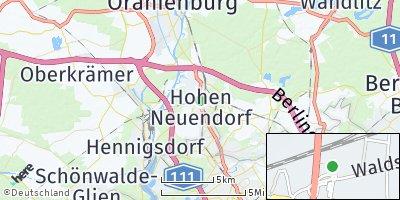 Google Map of Hohen Neuendorf