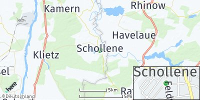 Google Map of Schollene