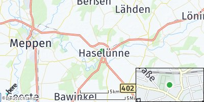 Google Map of Haselünne