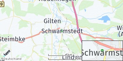 Google Map of Schwarmstedt