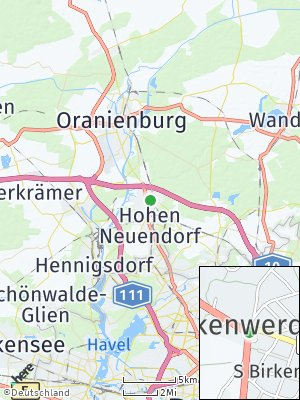 Here Map of Birkenwerder