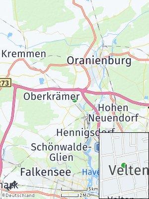 Here Map of Velten