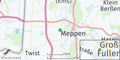 Google Map of Groß Fullen