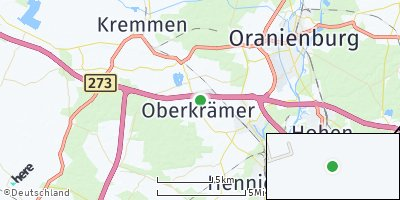 Google Map of Oberkrämer
