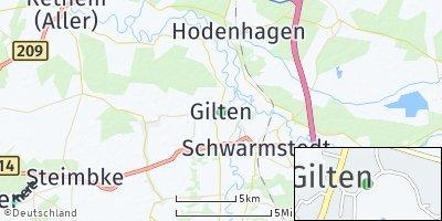 Google Map of Gilten