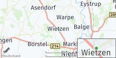 Google Map of Wietzen