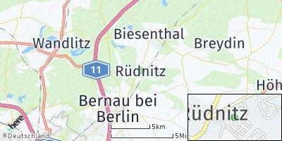 Google Map of Rüdnitz