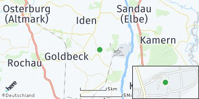 Google Map of Hohenberg-Krusemark
