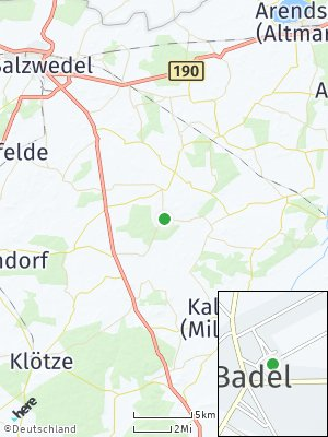 Here Map of Badel