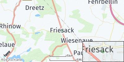 Google Map of Friesack