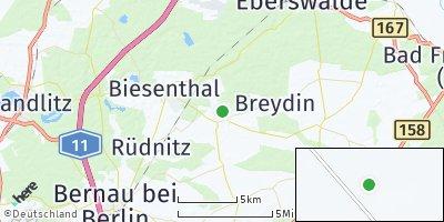 Google Map of Sydower Fließ