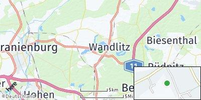 Google Map of Wandlitz