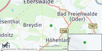 Google Map of Höhenland
