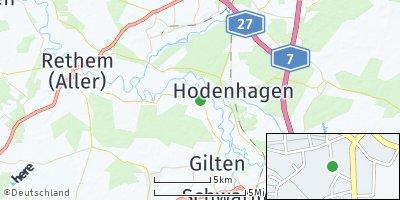 Google Map of Ahlden