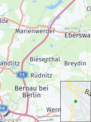 Here Map of Biesenthal