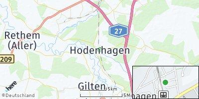 Google Map of Hodenhagen